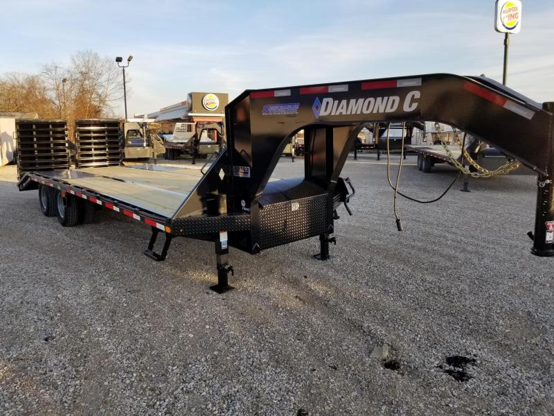 "2020 FMAX 210MR 20'+5'x102"" 25K Diamond C Engineered Beam Equipment Trailer. 23728"