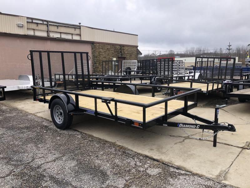2020 12x77 Diamond C Utility Trailer. 20819