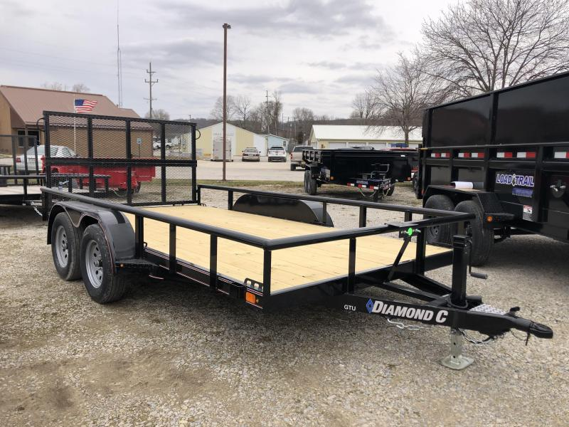 2020 14x83 7K Diamond C Utility Trailer. 25405