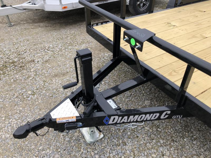 2020 14x83 7K Diamond C Utility Trailer. 25405