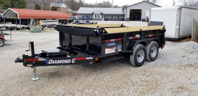 2020 12x82 14.9K Diamond C Dump Trailer. 21799
