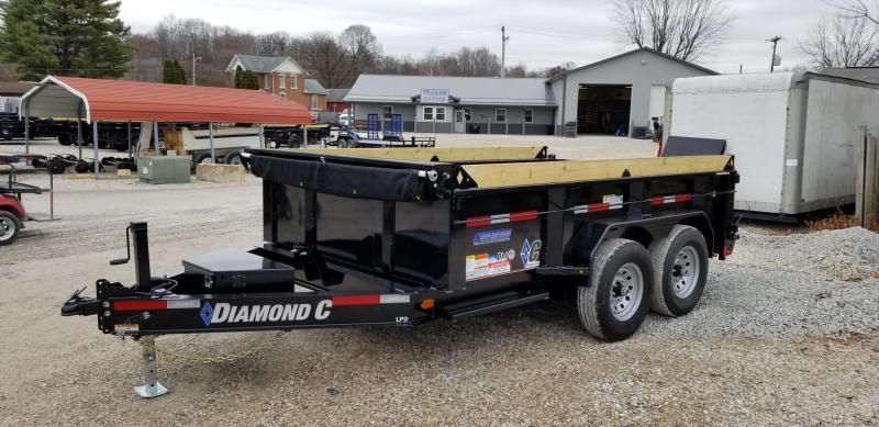 2020 12x82 14.9K Diamond C Dump Trailer. 21799