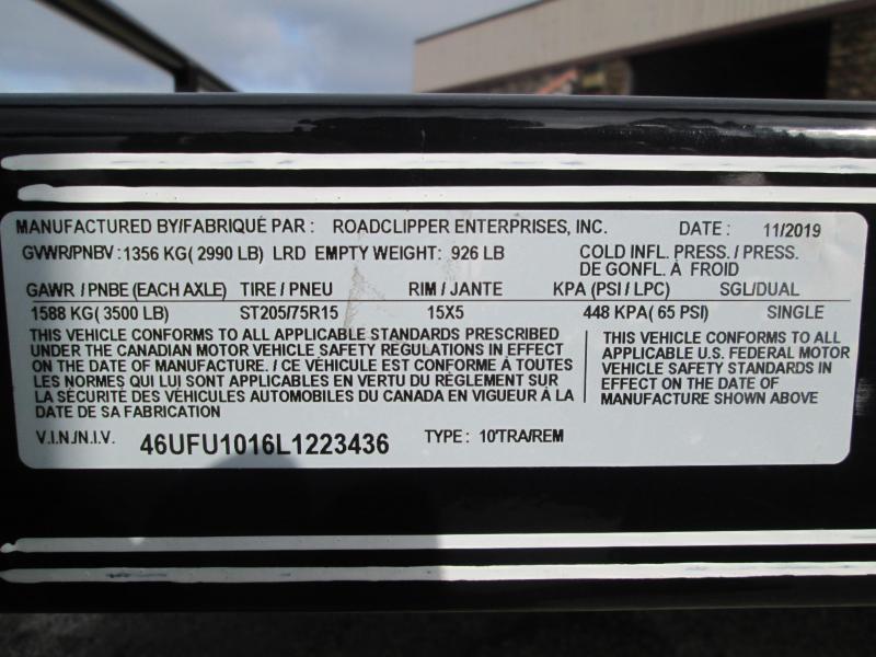 2020 10x77 GSA Diamond C Utility Trailer. 23436