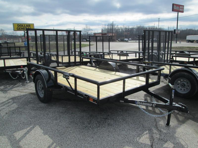 2020 10x77 GSA Diamond C Utility Trailer. 23436