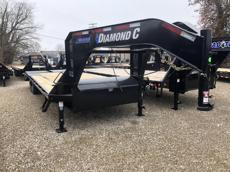 DIAMOND C 2020 FMAX 207 MR 20'+5' 15.5K  Engineered Beam Trailer