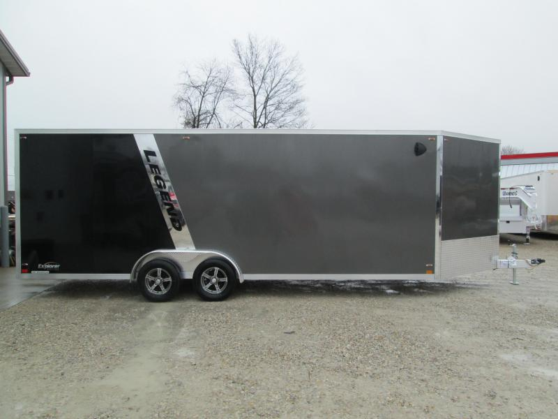 2020 LEGEND 7.5x27 Explorer Enclosed Trailer 17199