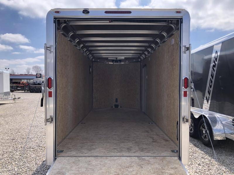 2020 Legend Manufacturing Deluxe V-Nose Enclosed Cargo Trailer