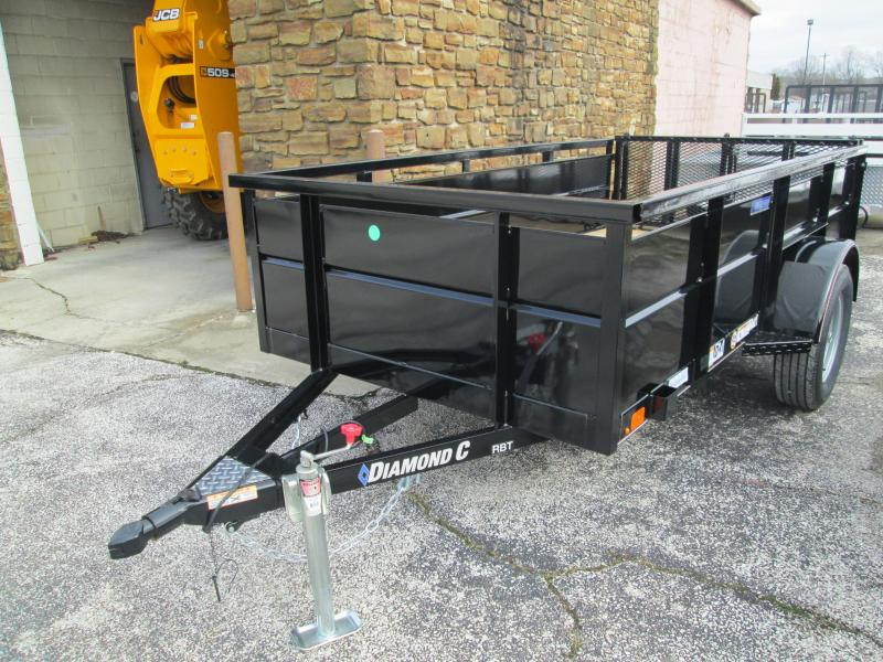 "2020 10'x60"" RBT Diamond C Utility Trailer. 21216"