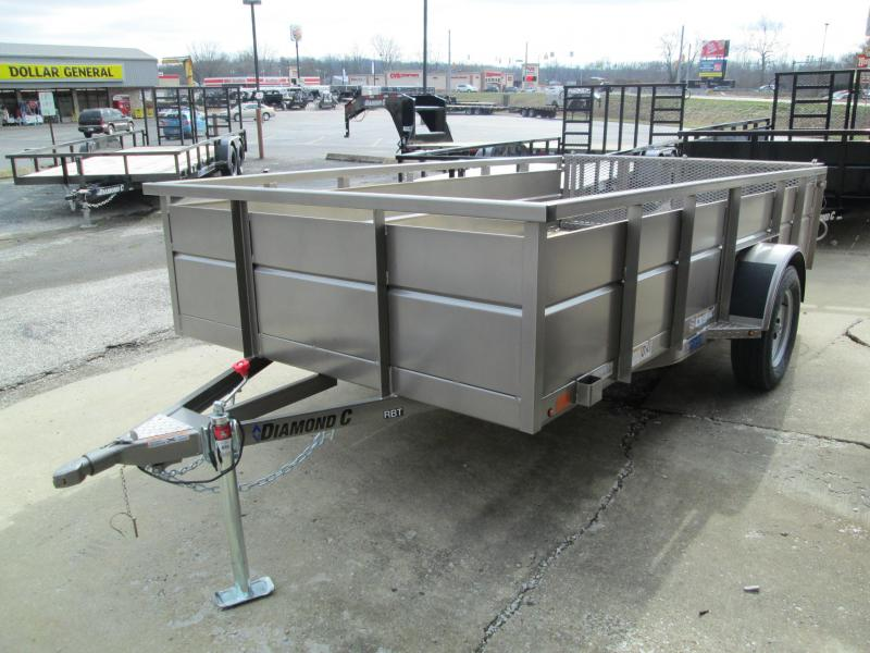 2020 12x77 RBT Diamond C Utility Trailer. 22998