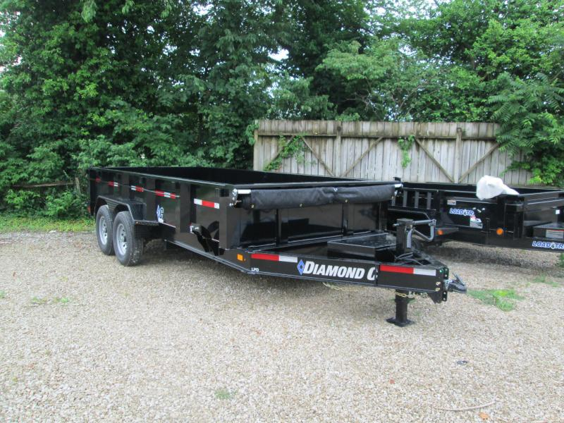2020 16x82 LPD Diamond C Dump Trailer. 30221