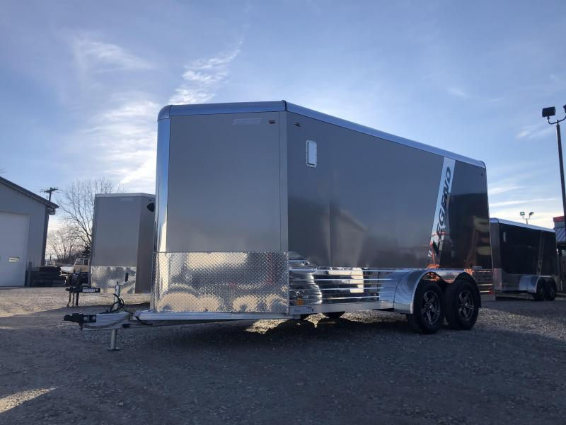 2020 7x17 Legend DVN Enclosed Trailer. 17973