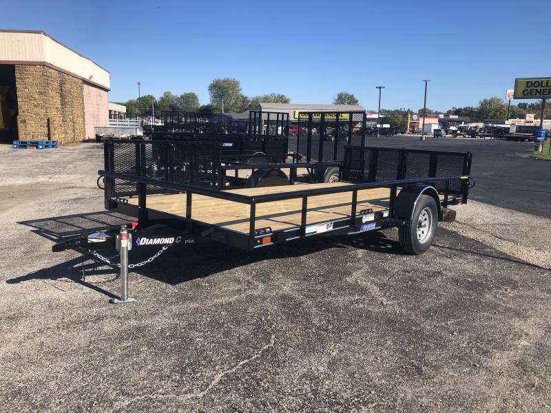 2020 14x83 Diamond C Utility Trailer. 19902