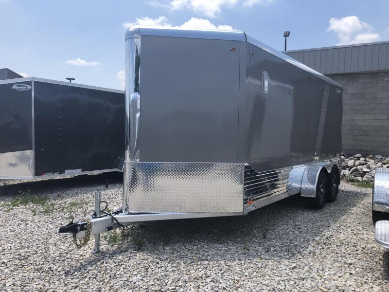 2020 Legend DVN 7x16 Plus V-nose Aluminum Enclosed Trailer. 17792