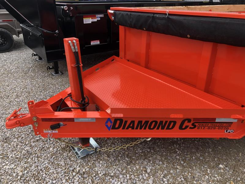 2020 14x82 14.9K Diamond C LPD Dump Trailer. 24544