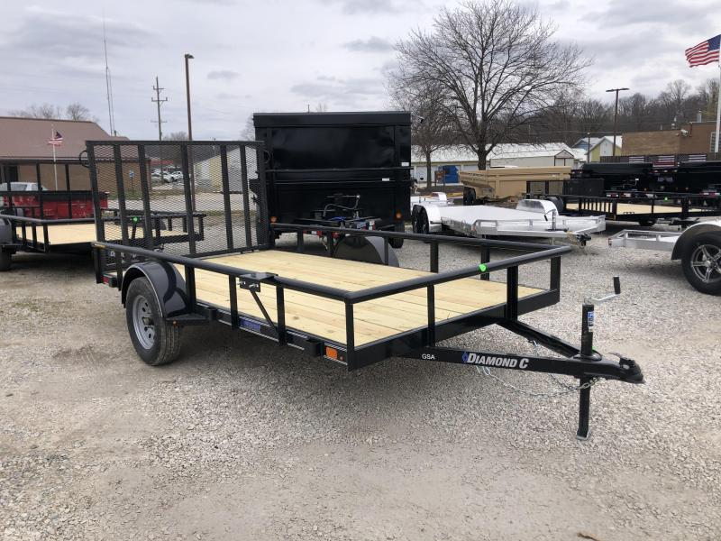 2020 12x77 Diamond C GSA135 Utility Trailer. 26179