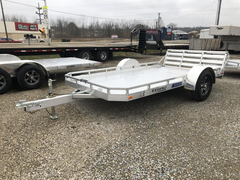 2020 7'x12' Legend Aluminum Utility with ramp gate. 17896