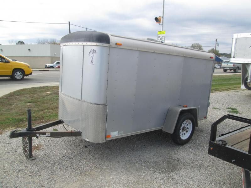 2011 Atlas Specialty Trailers AC510SA Enclosed Cargo Trailer