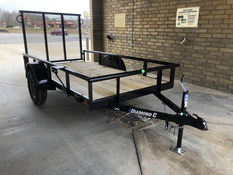 2020 10x60 Diamond C GSA Utility Trailer. 22089