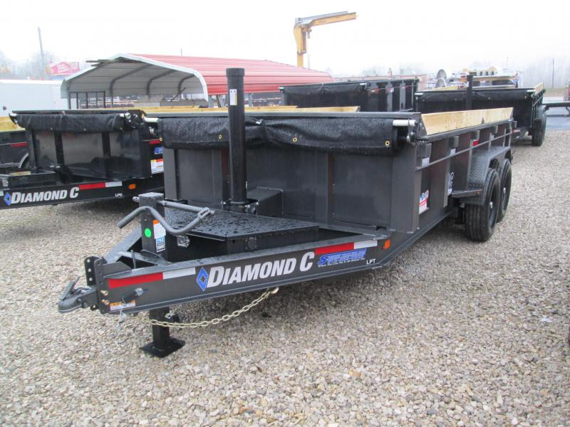 2020 14x82 14.9K Diamond C LPT Dump Trailer. 24411