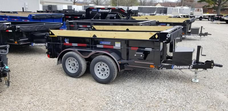 2020 77x10 7K Diamond C Dump Trailer. 22122