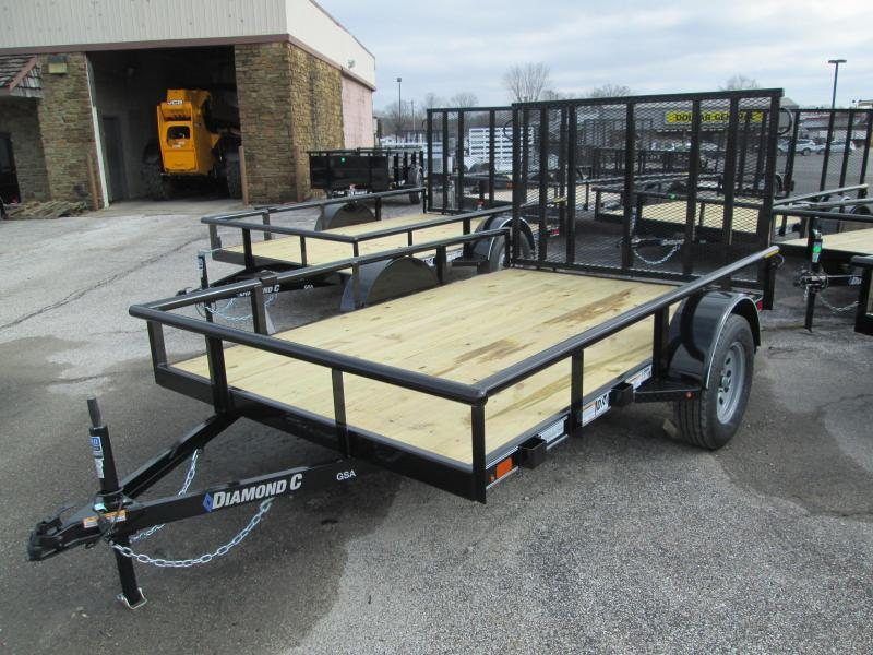 2020 10x77 GSA Diamond C Utility Trailer. 23371