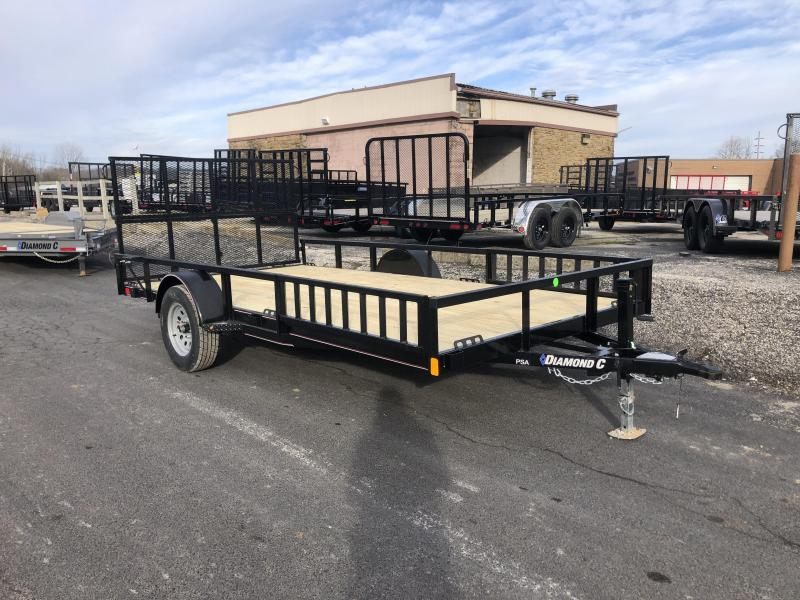 2020 14x83 Diamond C PSA Utility Trailer. 24680
