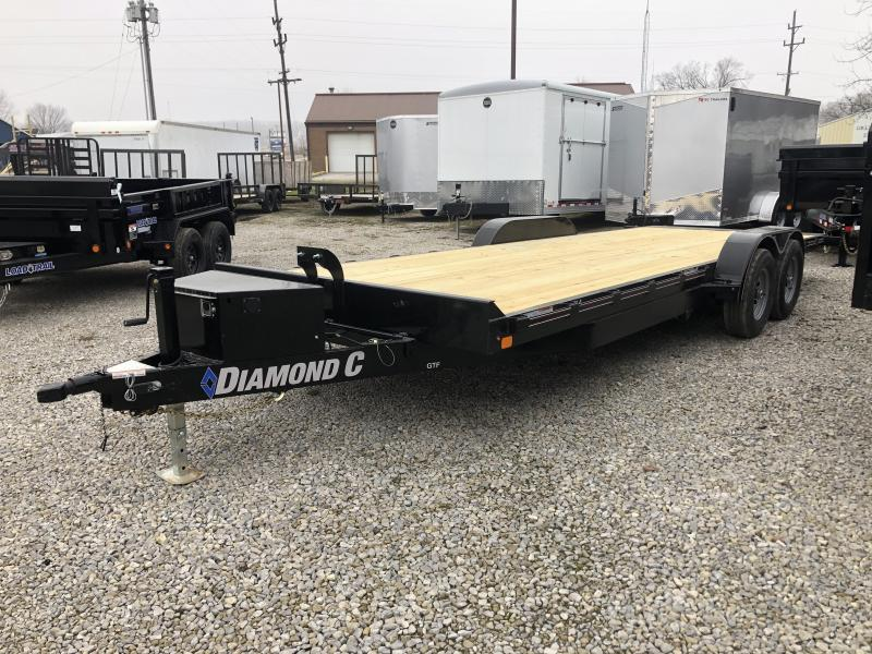 2020 22x82 10K Diamond C Tilt Equipment Trailer. 23294