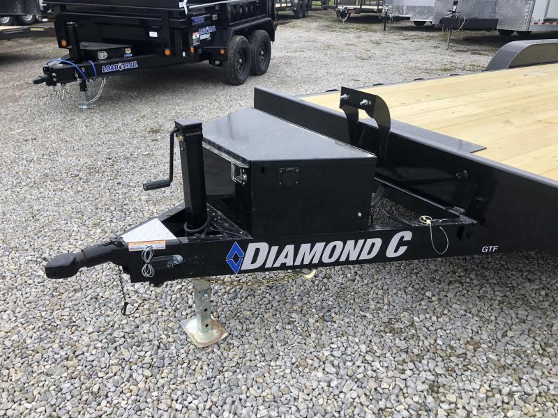 2020 22x82 10K Diamond C Tilt Equipment Trailer. 23294