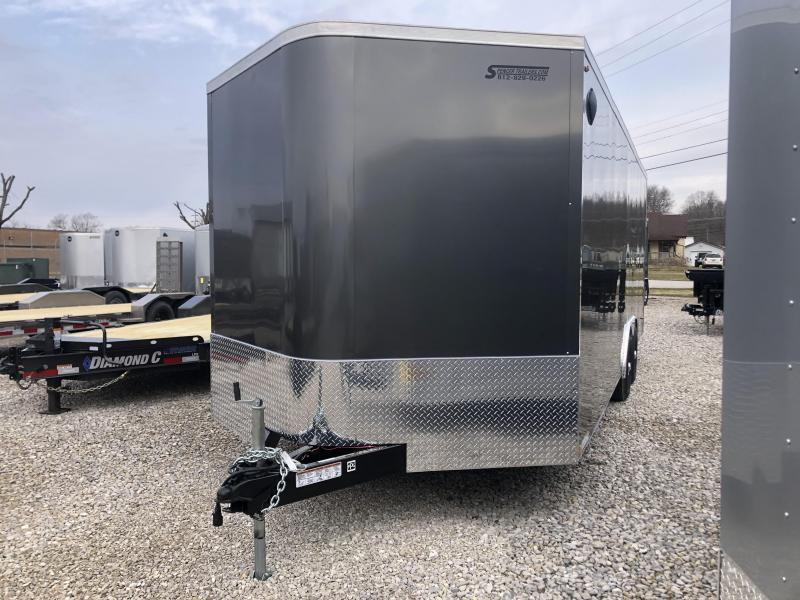 2020 24x8.5 10K Legend Cyclone Enclosed Trailer. 17615
