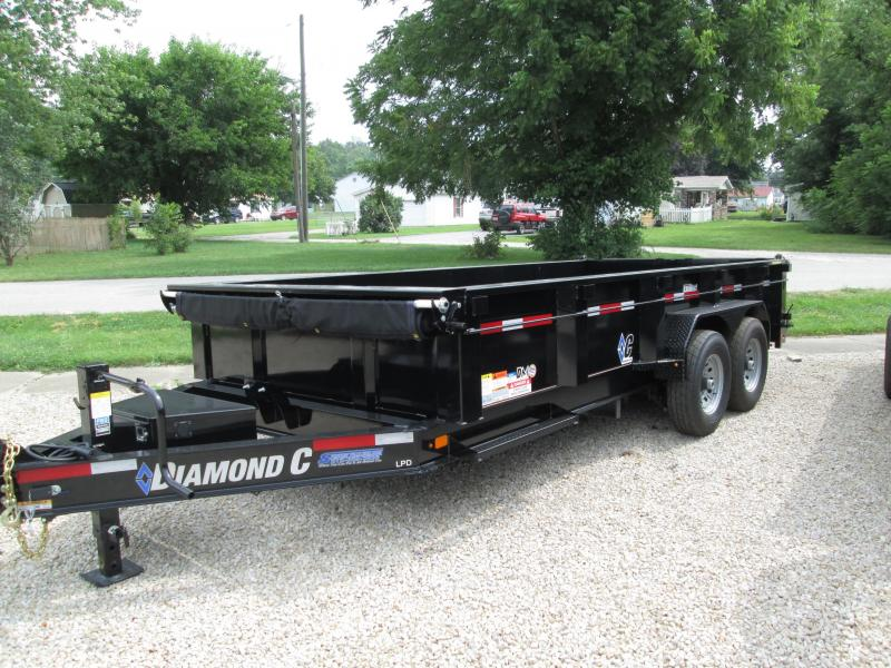 2019 16x82 14.9K Diamond C Dump Trailer. 16728