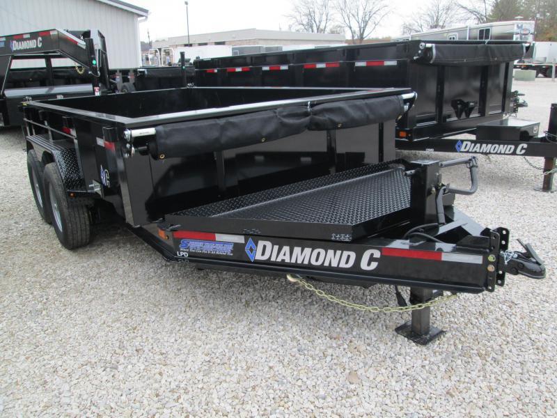 2020 Diamond C Trailers LPD207 Dump Trailer