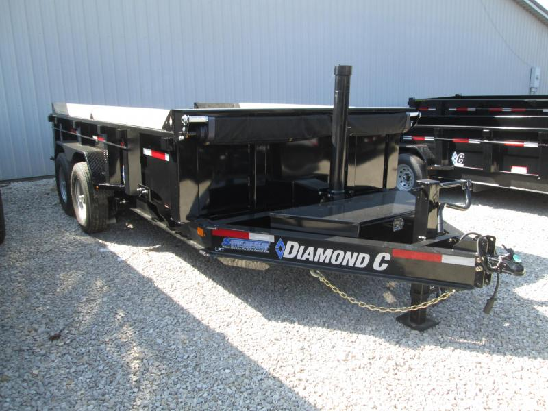 2019 14x82 14.9K Diamond C Dump Trailer. 15744