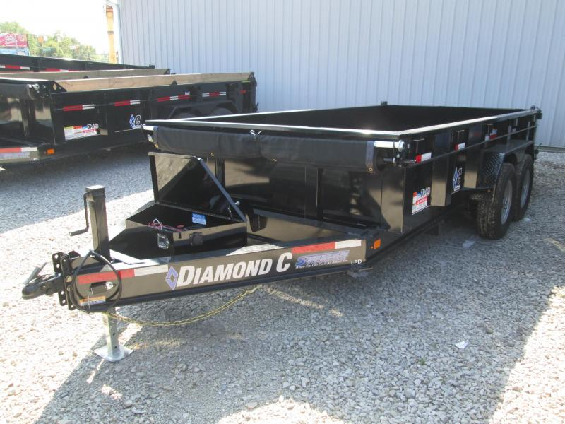 2019 14x82 14.9K Diamond C Dump Trailer.17250