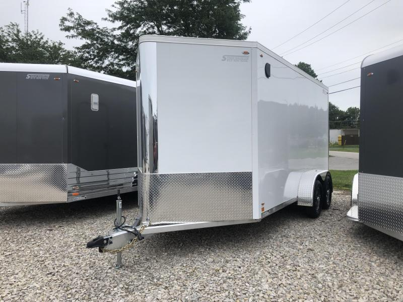 7' TALL! UTV READY! 2020 LEGEND FTV 7X14 Plus V-nose Aluminum Trailer