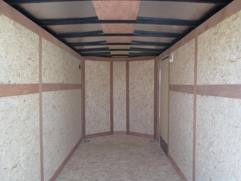 """2020 6'x12' Wells Cargo Fast Trac Enclosed with 6"""" Extra Height and ramp door. 00347"""