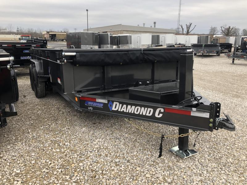 2020 16x82 14.9K Diamond C LPD Dump Trailer. 24789