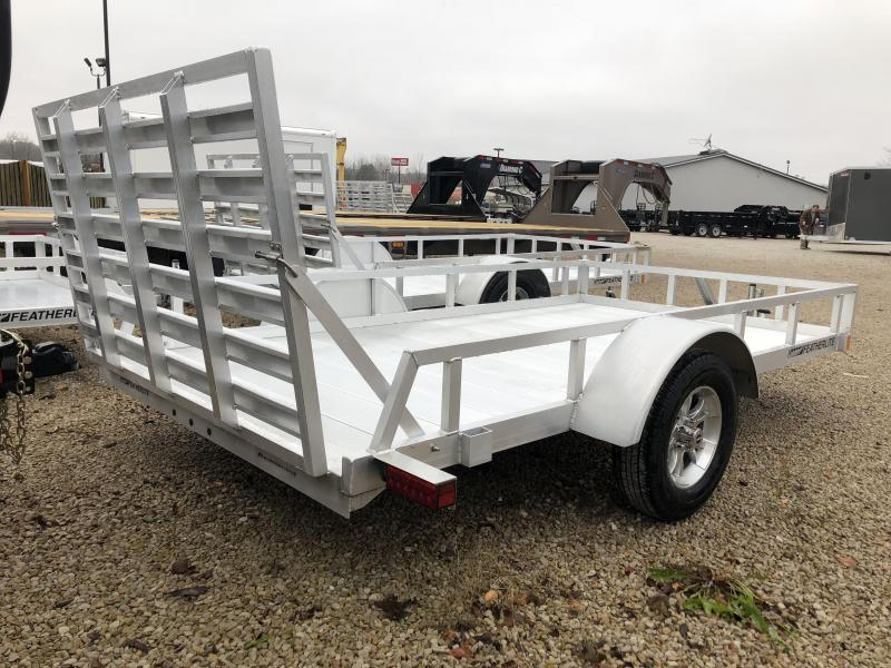 2019 12' Featherlite Utility Trailer. 150617