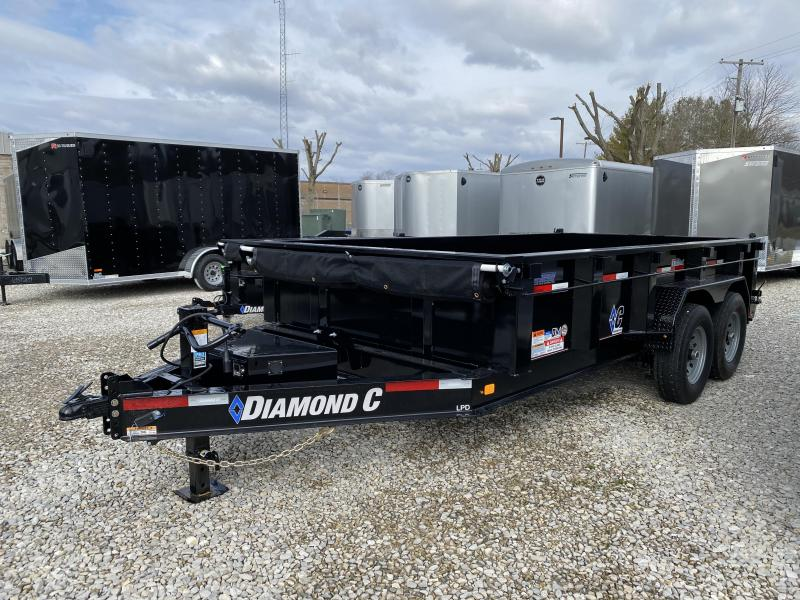 2020 14x82 14.9K Diamond C LPD Dump Trailer. 25338