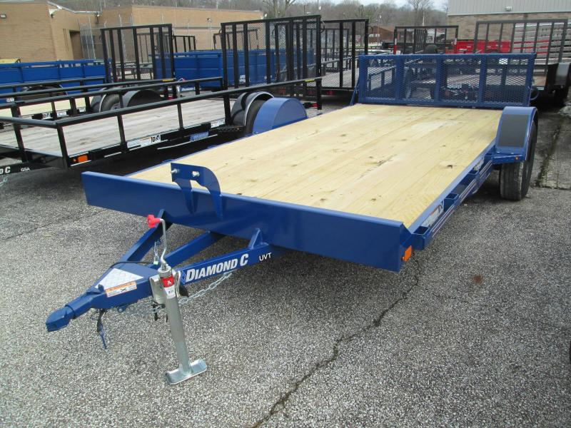2020 14x83 Diamond C UVT Utility Trailer. 23726