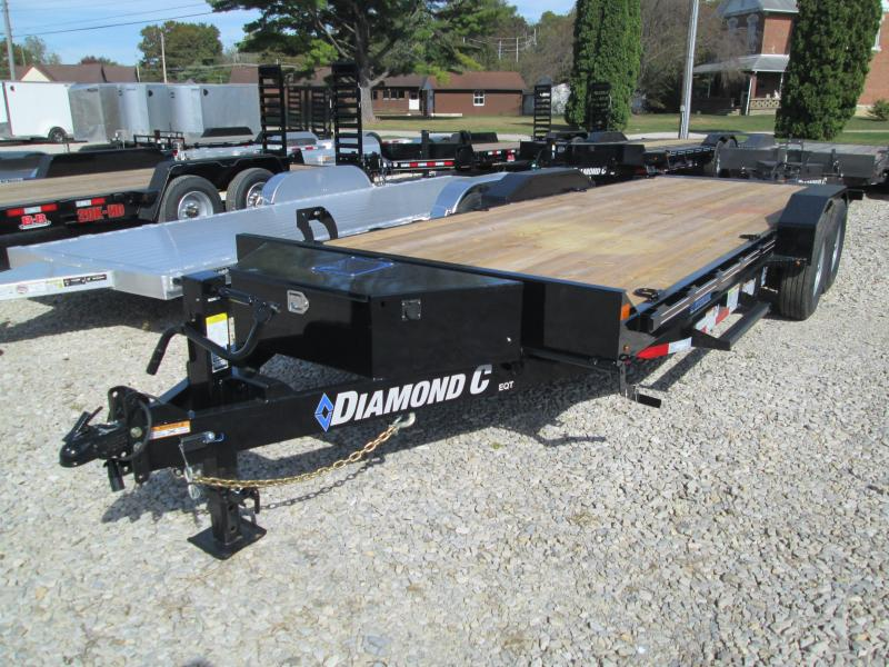 "2020 22'x82"" 14.9K  Diamond C Equipment Trailer. 19009"