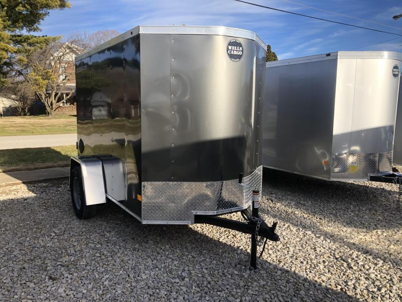 2020 Wells Cargo FT58 Enclosed Cargo Trailer