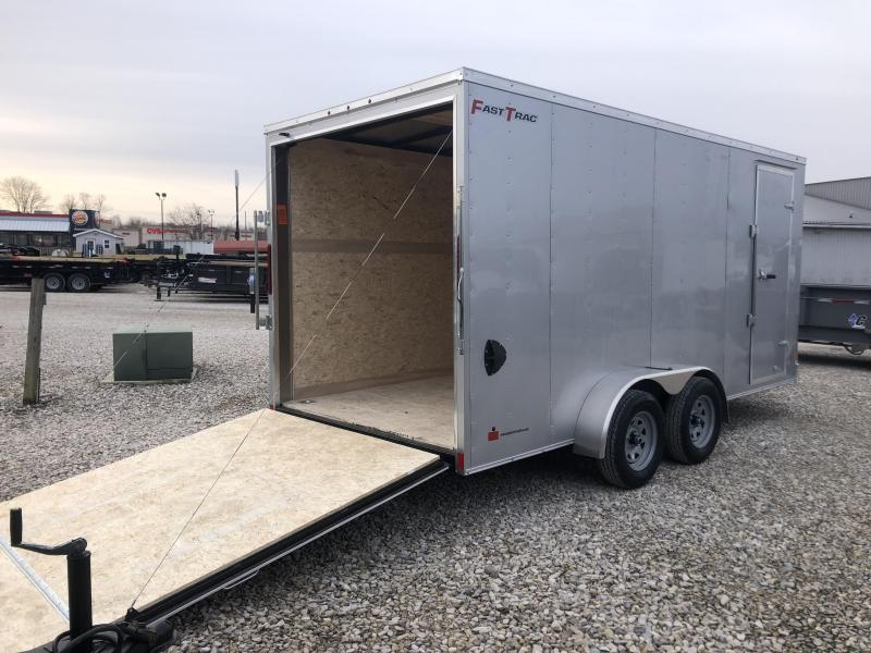 2020 7x16 Wells Cargo FastTrac Enclosed Trailer. 00631