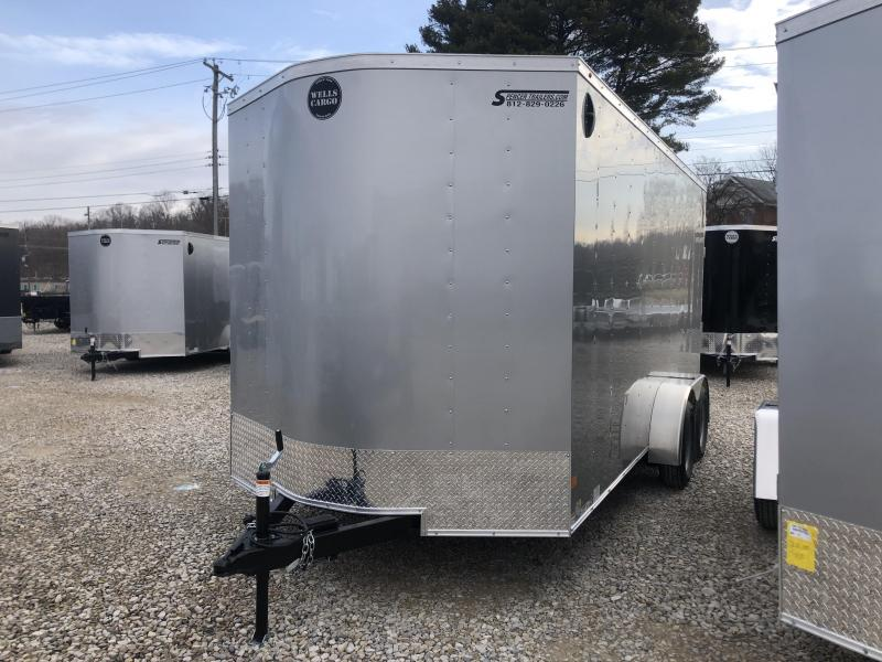 2020 7x16 Wells Cargo FastTrac Enclosed Trailer. 00631