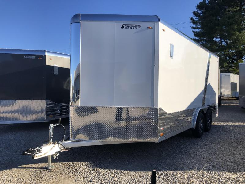 2020 16'+3' V-Nose Legend DVN Enclosed Cargo Trailer. 17463