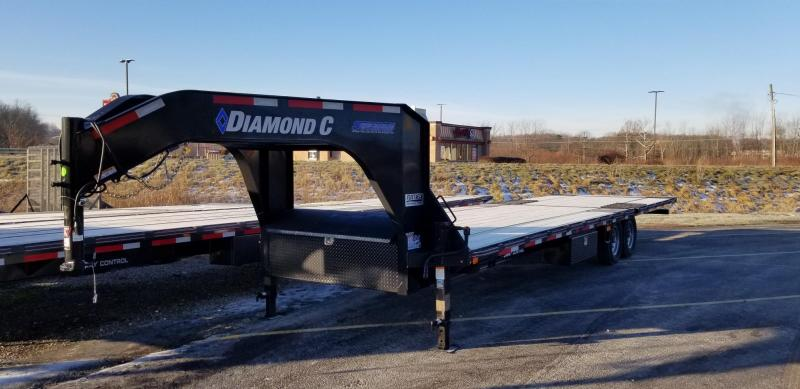 2020 Diamond C Trailers Engineered FMAX 207 Hydro Dovetail