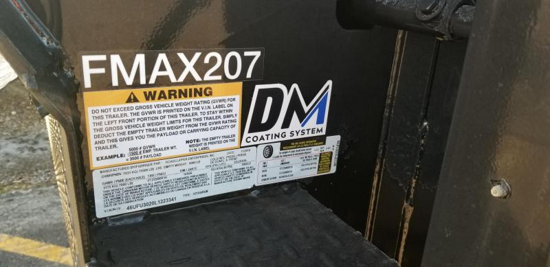 2020 Diamond C Trailers Engineered FMAX 207 Hydro Dovetail
