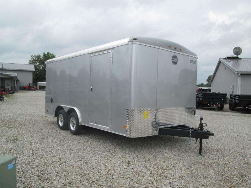 2019 8.5x16 Wells Cargo RF8516 Enclosed Cargo Trailer