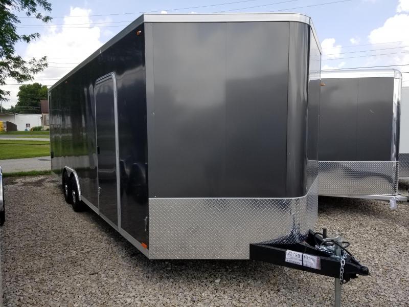 2020 Legend STV Cyclone 8.5x24 Plus V-nose Enclosed Car Hauler  17790