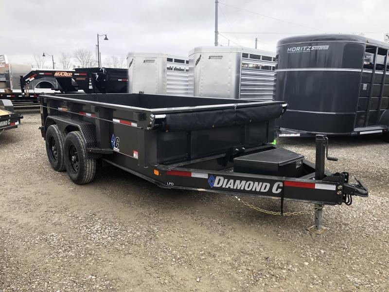 2020 12x82 14.9K Diamond C Dump Trailer. 21675