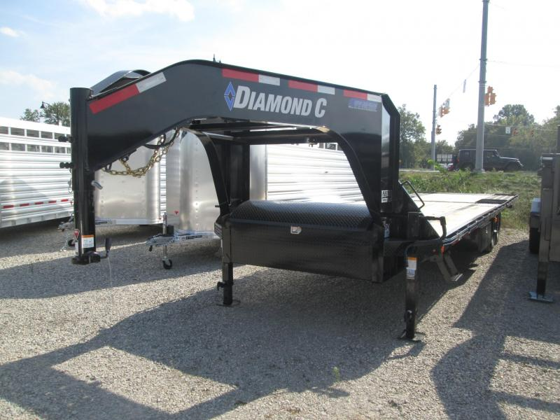 "2020 FMAX 207HDT 30'x102"" 15.5K Diamond C Engineered Beam Gooseneck Trailer. 19062"